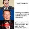 Elon Musk is the ultimate billionaire