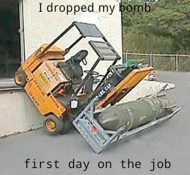 fired on his first day - meme