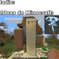 esas aldeas son raras - meme