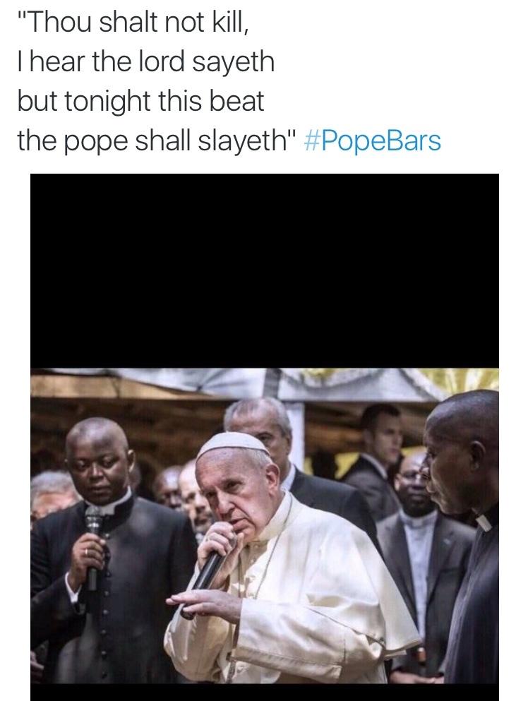 #PopeBars - meme