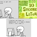 I have realized my hobby of making rage comics