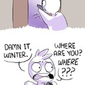 Damn winter!