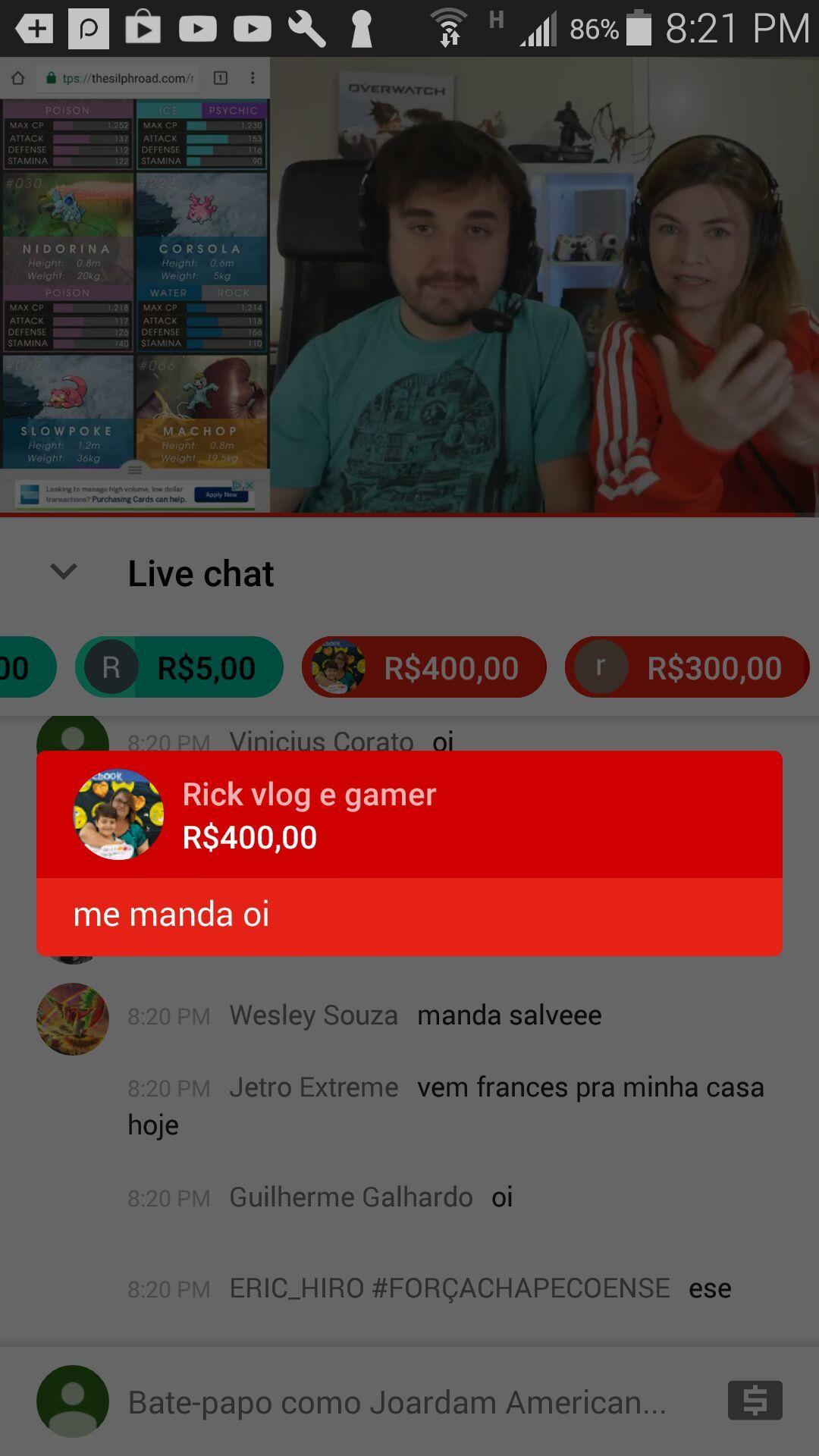 quando a pessoa deaperdica 400 reais - meme