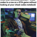 Tank cheat code is a must