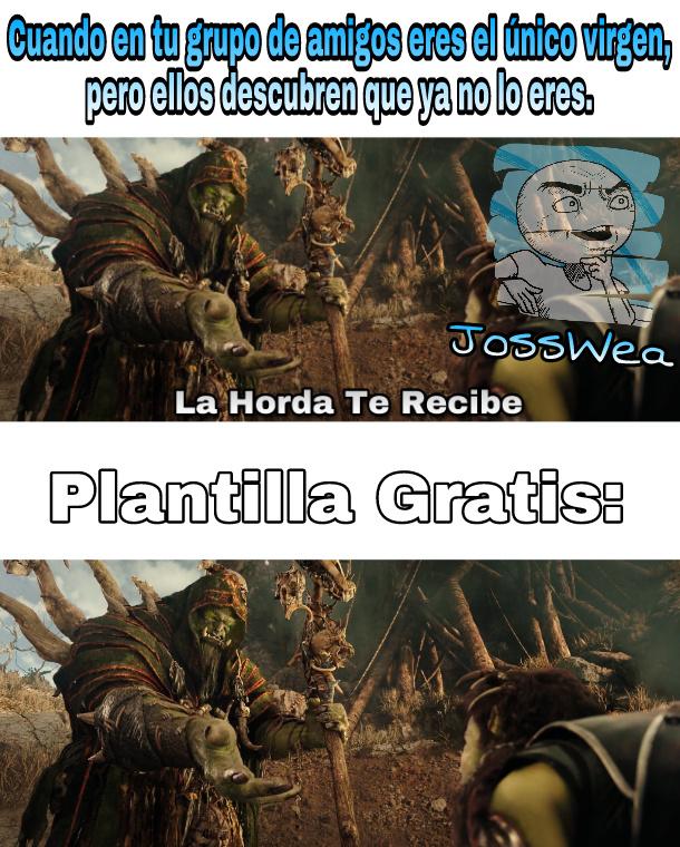 Plantilla Nueva y Gratis? Donde? - meme