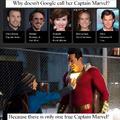 Captain Marvel was okay, Shazam! was better