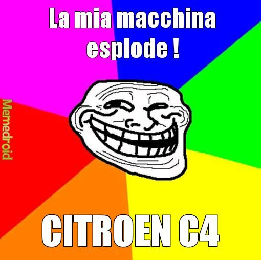 Citroen c4 - meme