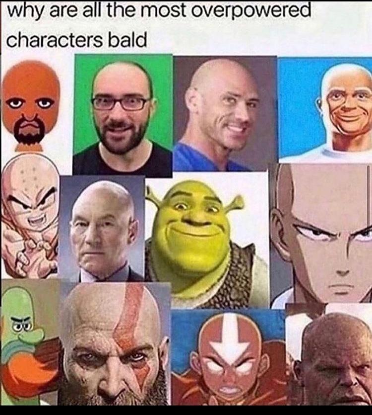 bald!!! - meme