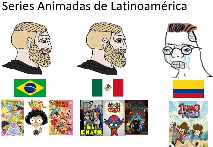 la peor serie de Latinoamérica - meme