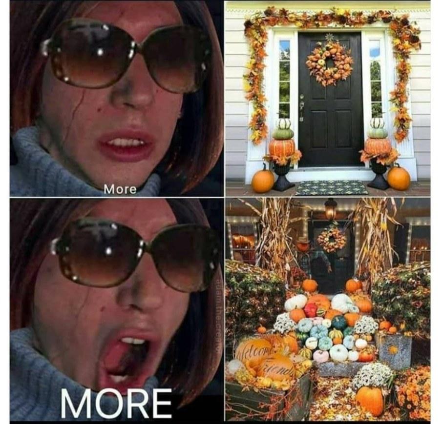 Shove a pumpkin up my ass!!!!!! - meme