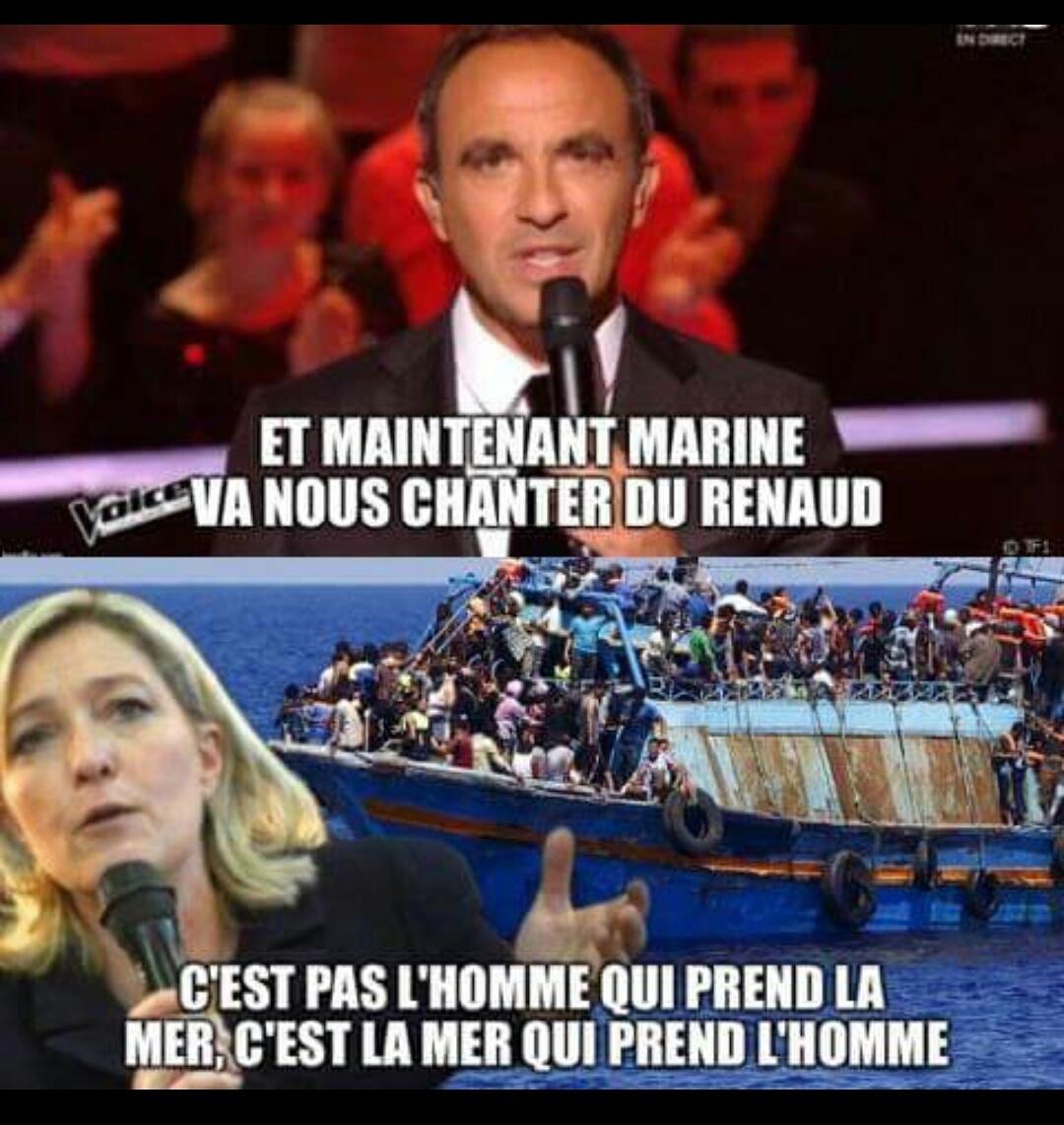 Marine elle fait de la Pen - meme