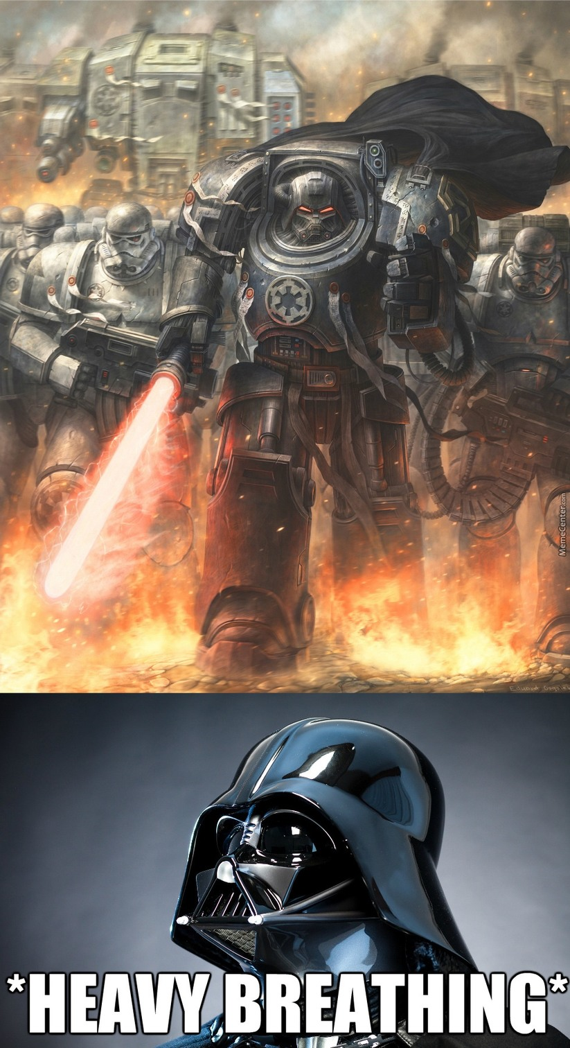 Stormtroopers in Imperium tech... O.O - meme