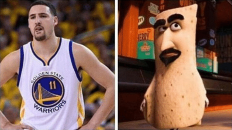 Klay Thompson - meme