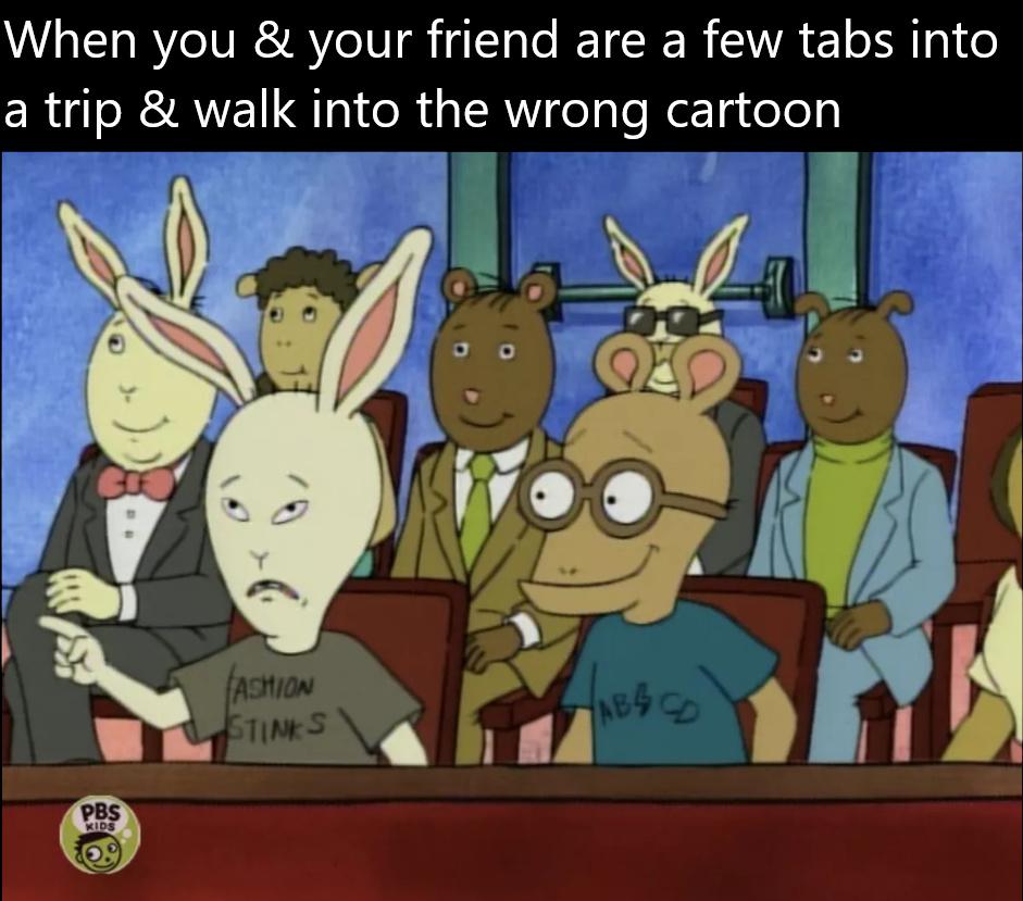 BeArthur and Butt-HeArthur - meme