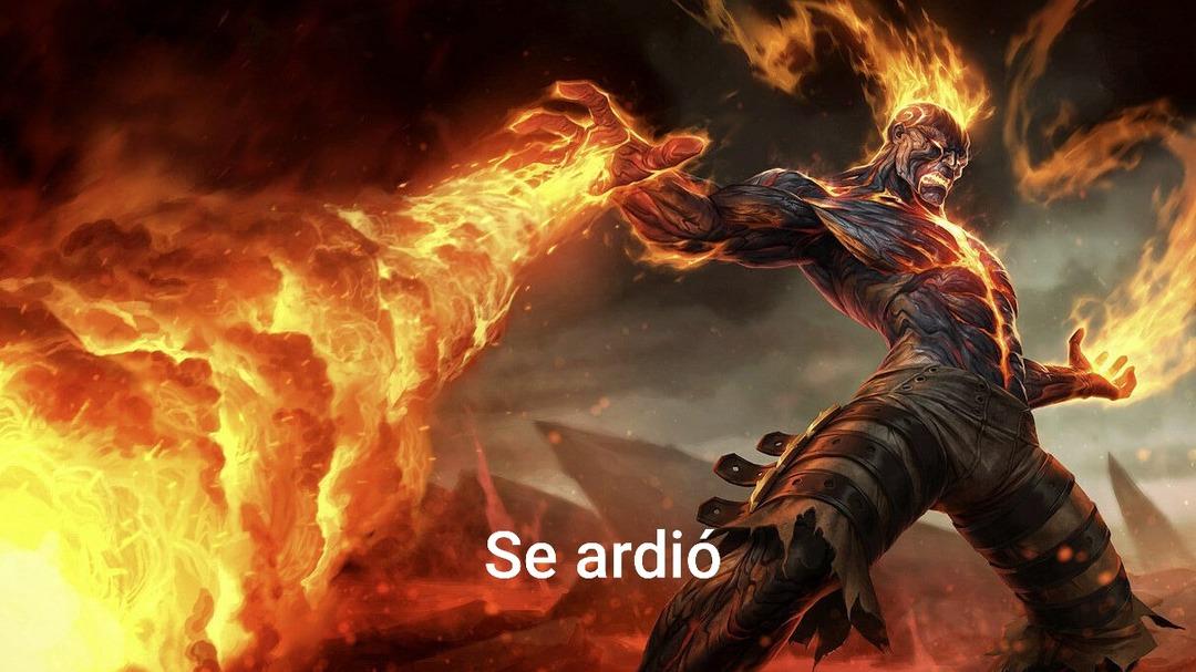 se ardio - meme