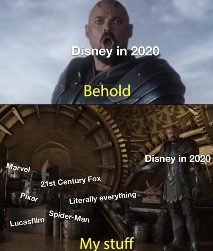 Disney will be owned by China in the future - meme