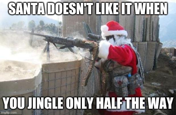 Santa so nice - meme