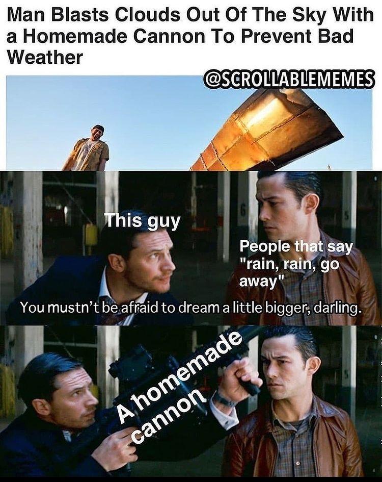 blast the clouds - meme