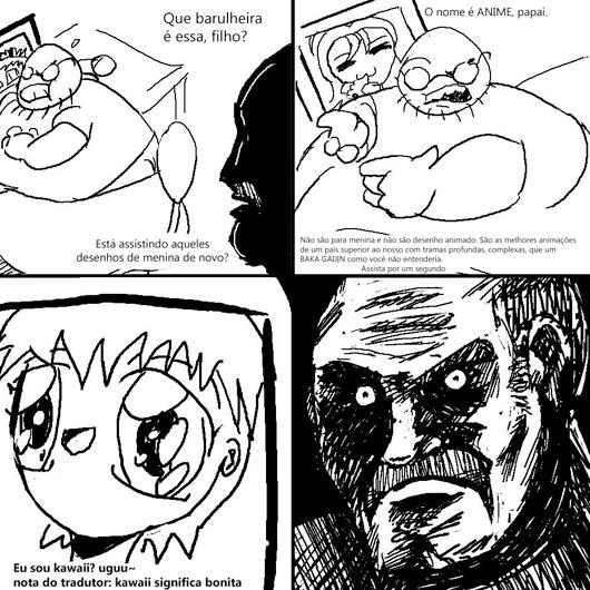 a primeira tirinha do darkstare - meme