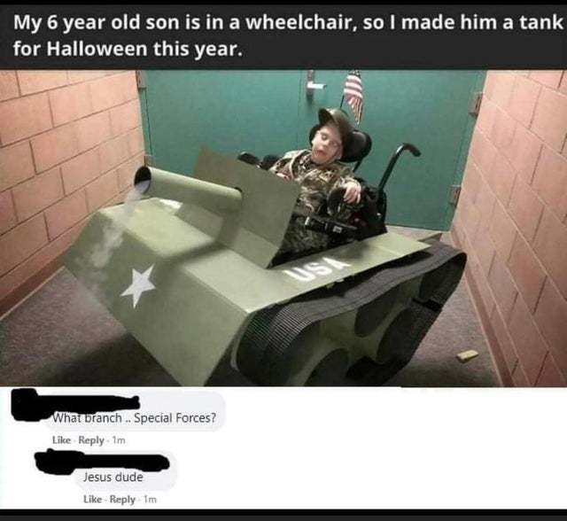 Special forces - meme