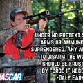 Raise hell praise Dale