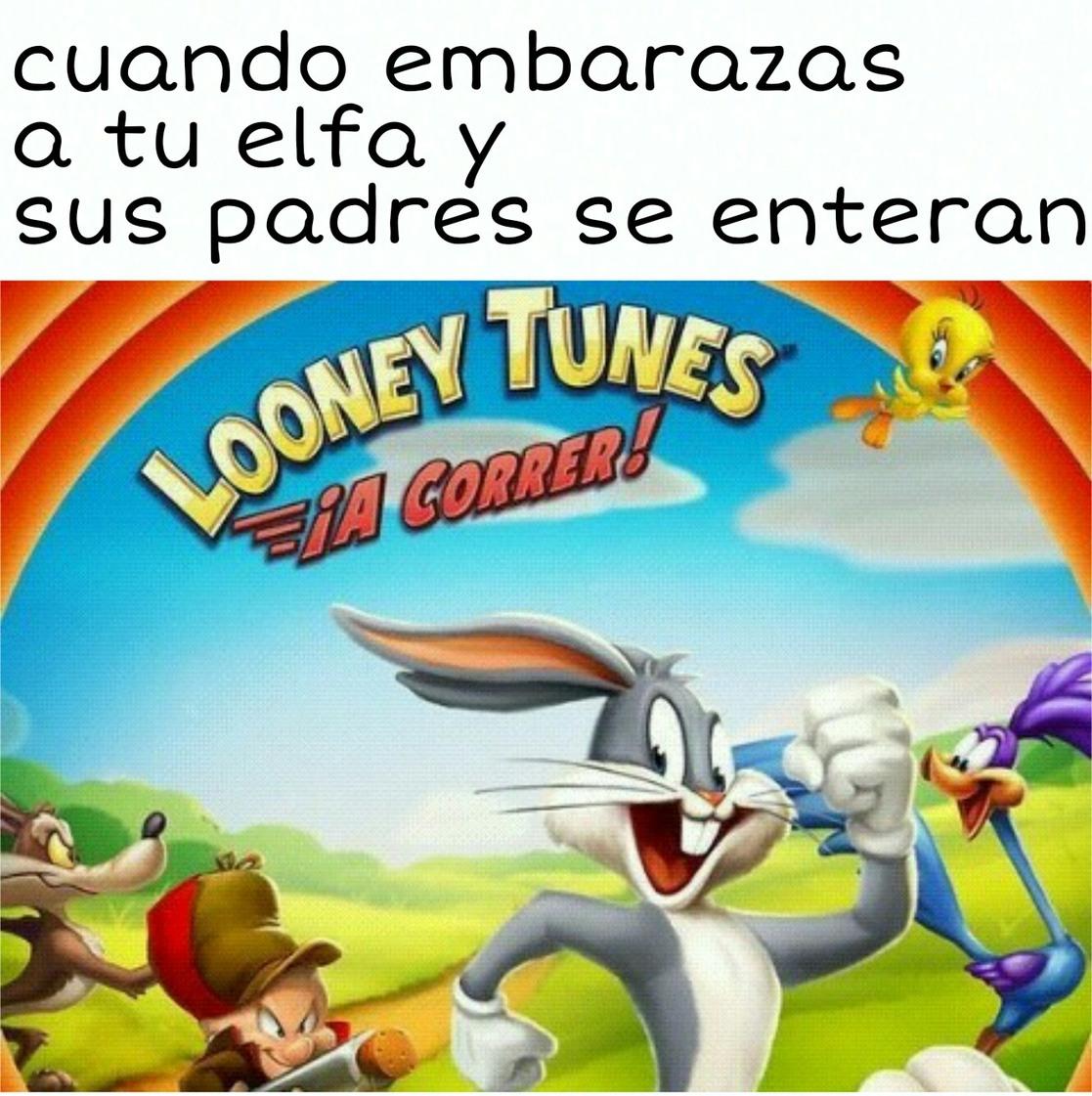 ¡A correr! - meme