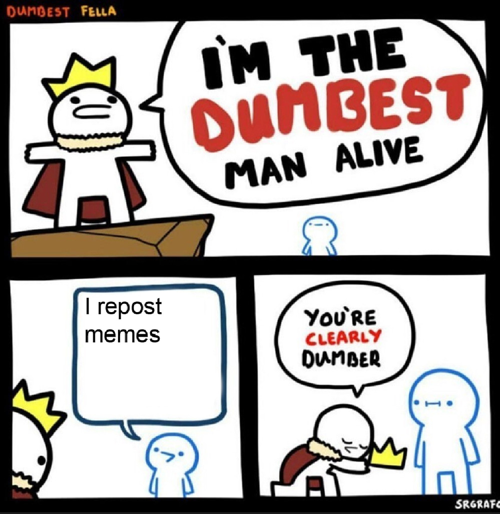 Dumbest people alive - meme