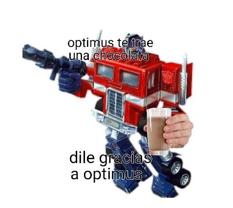 gracias optimus :D - meme