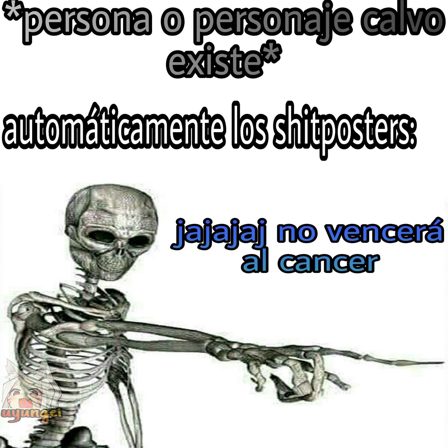 Haganle un no vencerá al cancer - meme