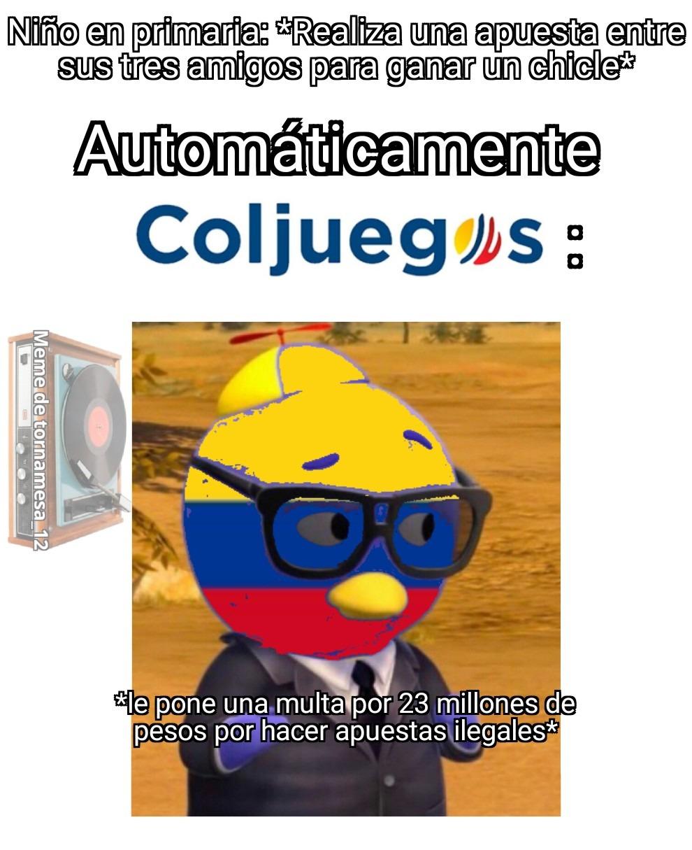 Carlitos de dije - meme