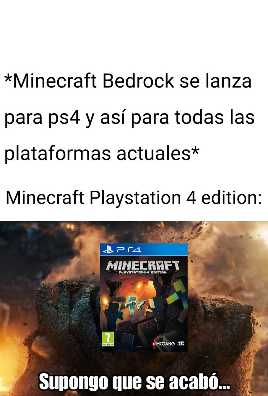 Adiós a un grande (contando también a PS3 edition) :'( - meme