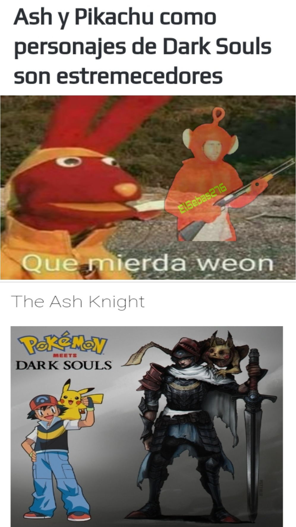 Re turbio el pikachu - meme