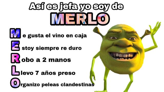 Merlo - meme