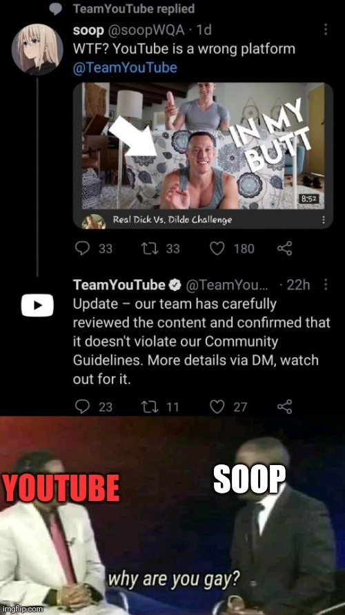 Fun fact: Video still available in Youtube - meme