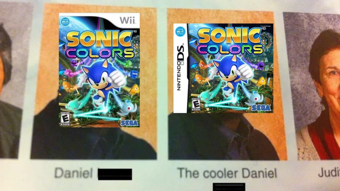 Mejores niveles, mejores jefes, sin ese humor de mierda, aparecen todos los personajes de Sonic y encima portable - meme