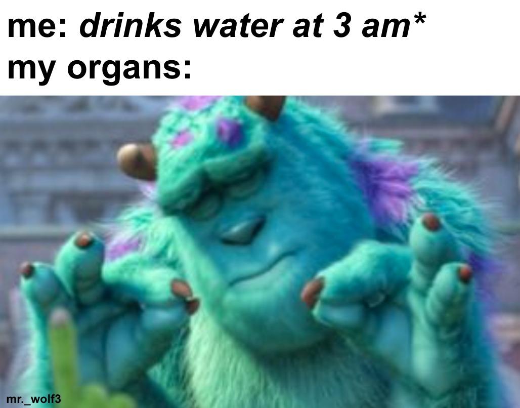 AHHHHHHHHHH WATER - meme