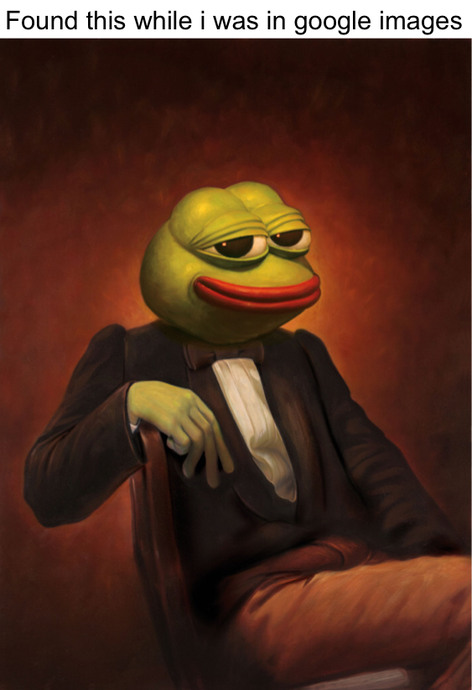 Fancy Pepe - meme