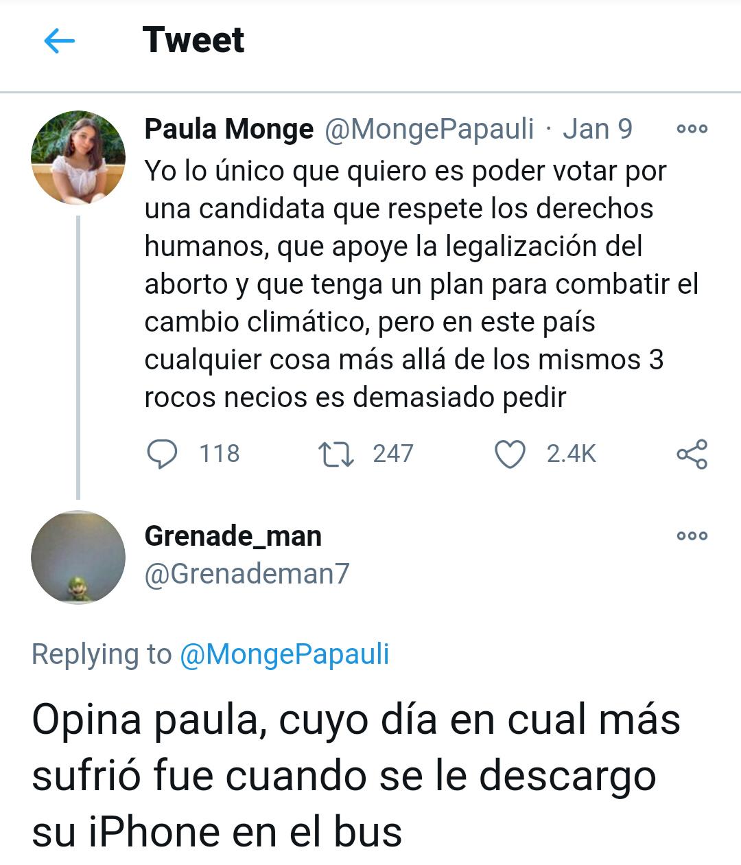 Papa de paula *no existe* paula: - meme