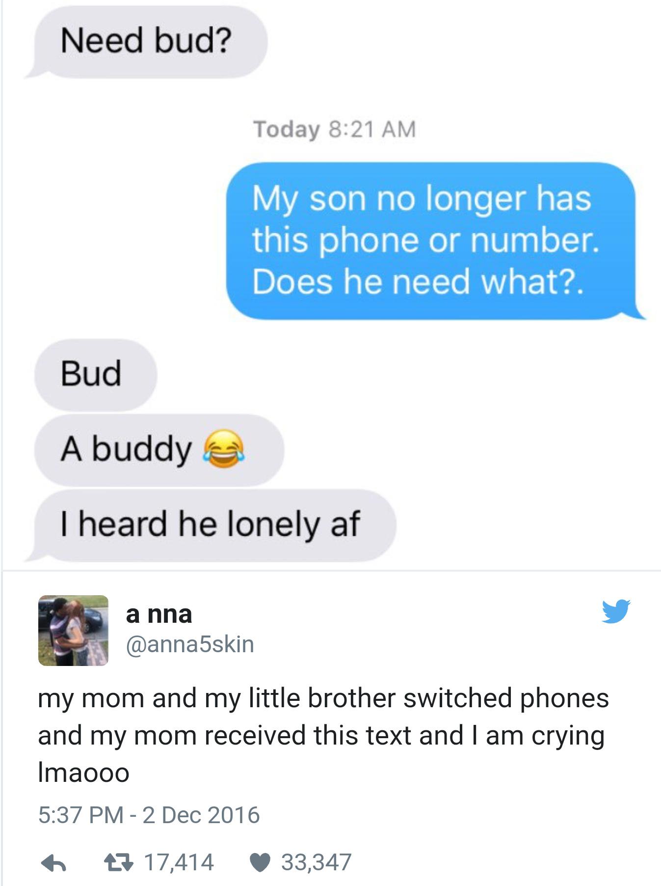 Bud = Weed - meme
