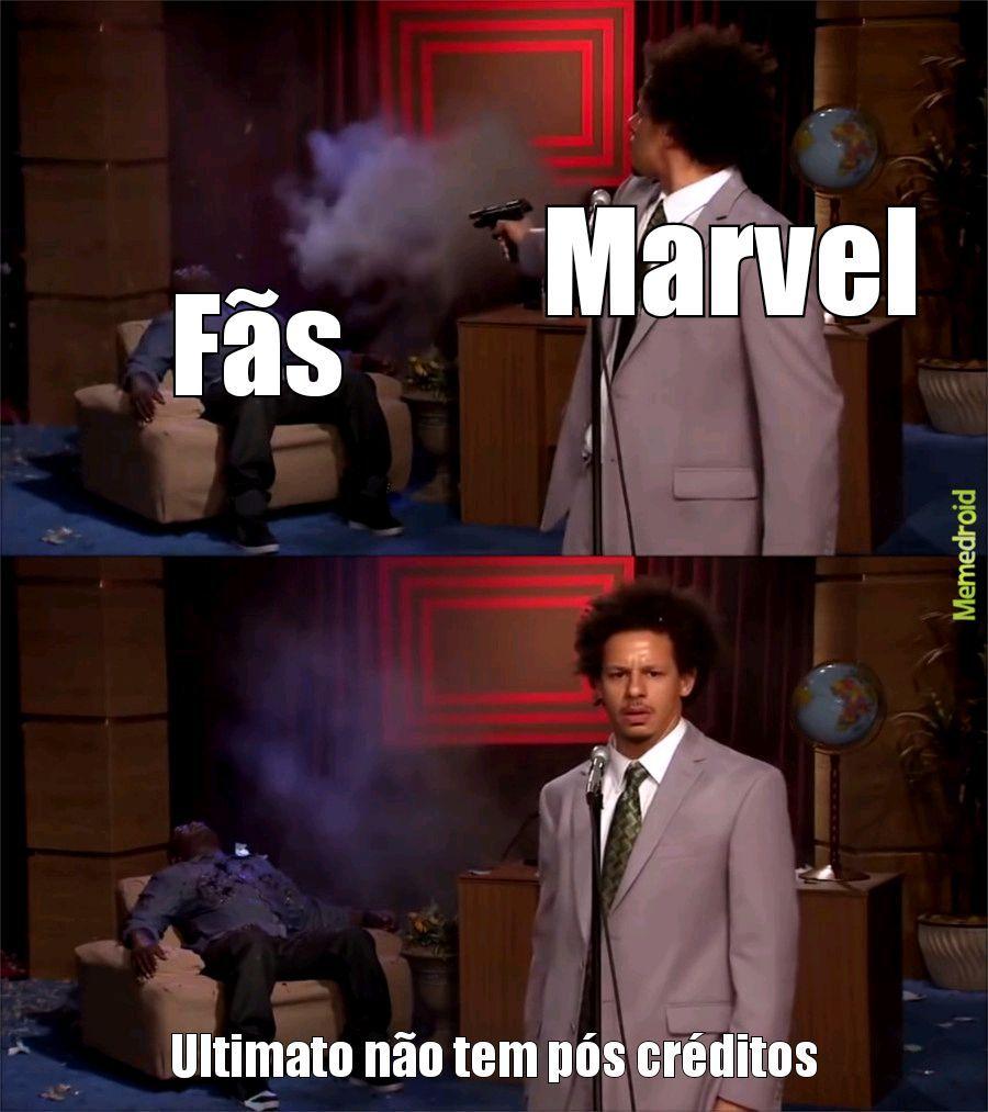 Vai toma no cu Marvel - meme