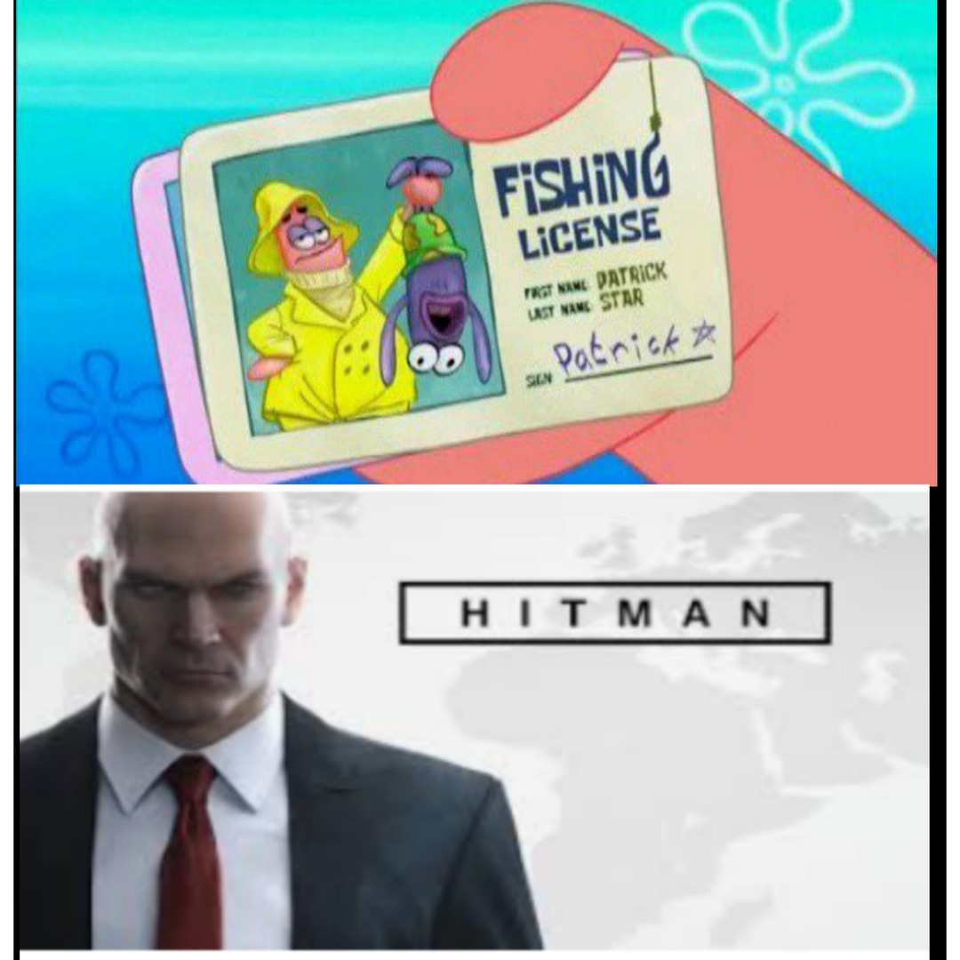 Hitman - meme