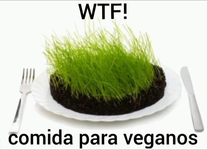 Comida para veganos - meme