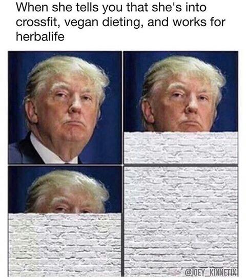 glorified protein - meme