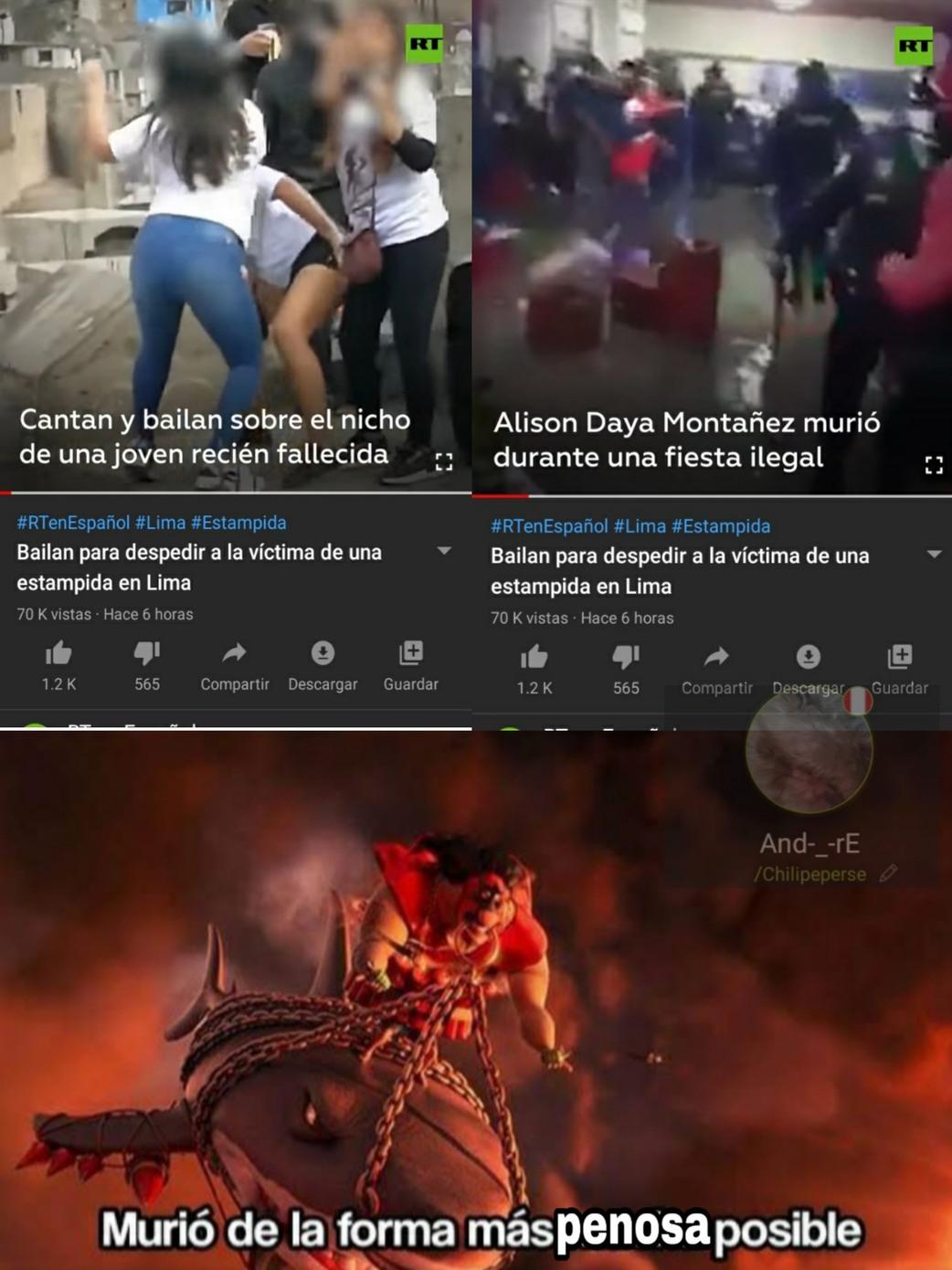 Más penosa/asquerosa/tonta y derivados - meme