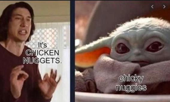 chicky nuggies - meme