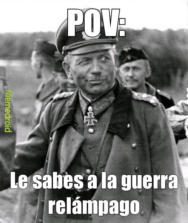 ¿Qué es POV? - meme