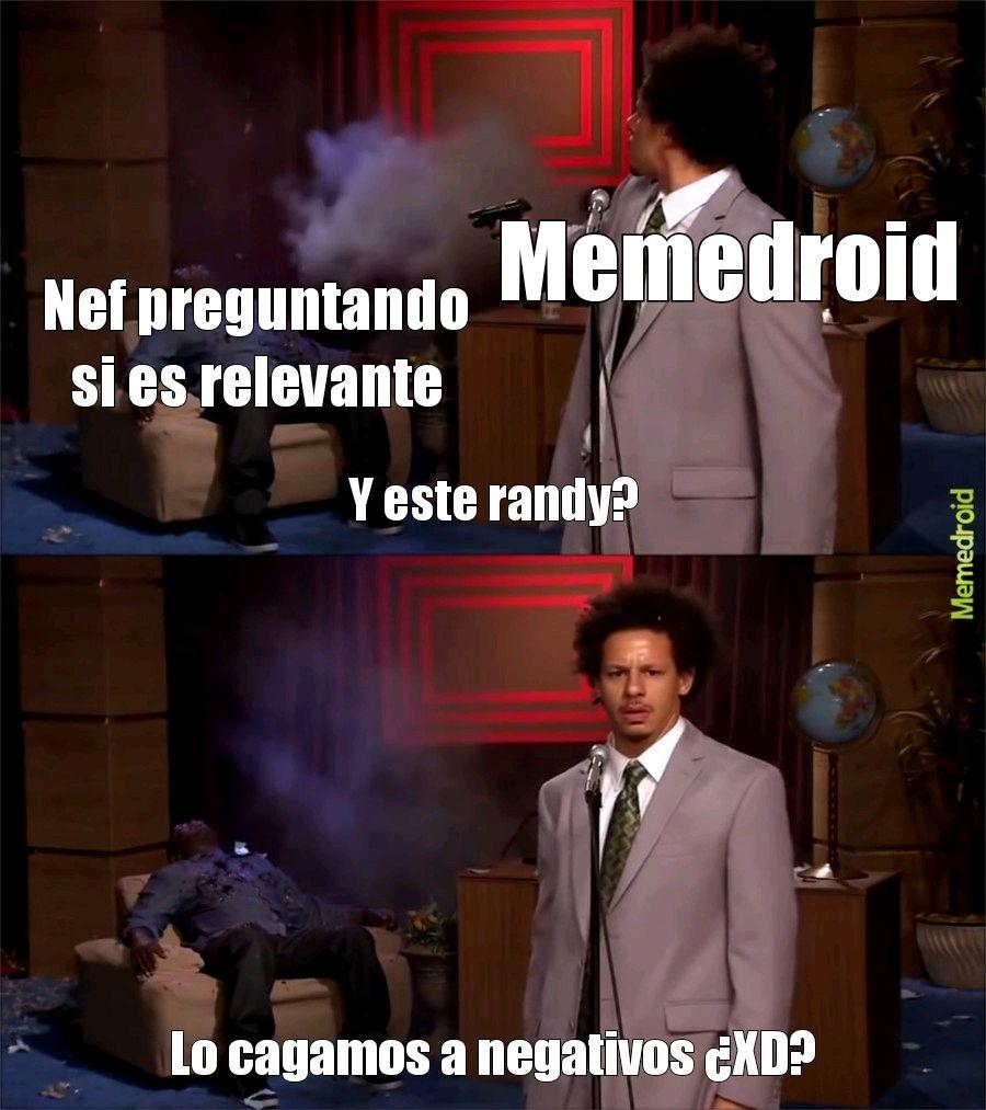 Me gane un odio epico - meme