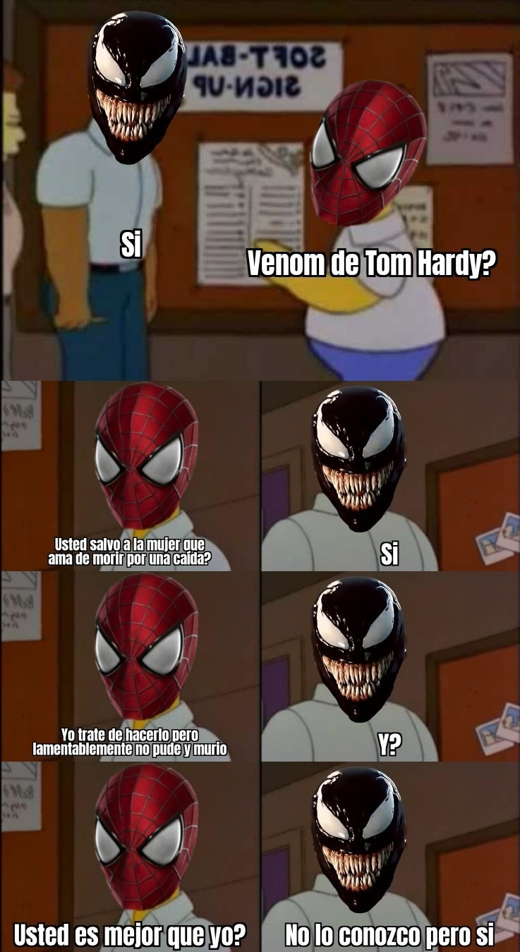El que vio Venom 2 entendera - meme