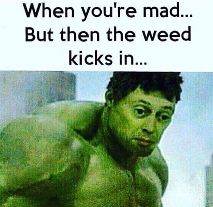 Chill af Hulk - meme