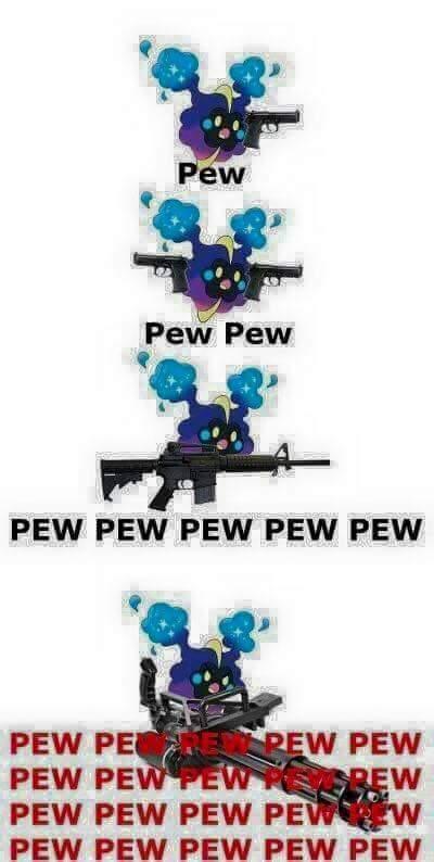 Pew - meme